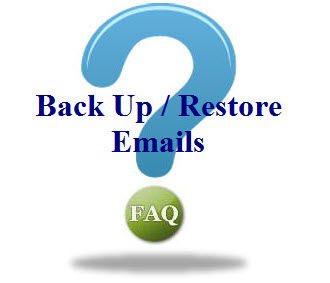 backup and restore emails